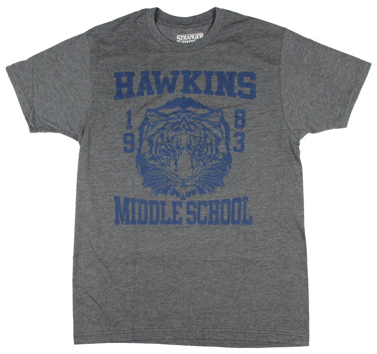 Stranger Things Hawkins Middle School Television Series S Tshirt
