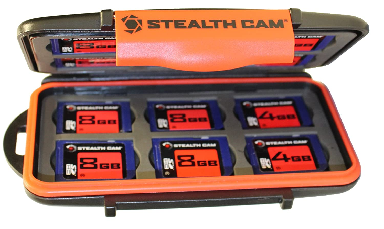 Stealth Cam Memory card case STC-MCSC Storage Case SD Card storage case