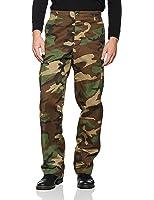 Miltec Pantalon Camouflage US Type BDU Ranger woodland