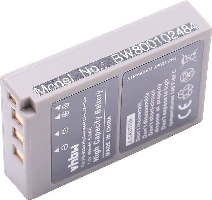 Vhbw Akku Kompatibel Mit Olympus Pen E Pl2 E Pl5 Elektronik