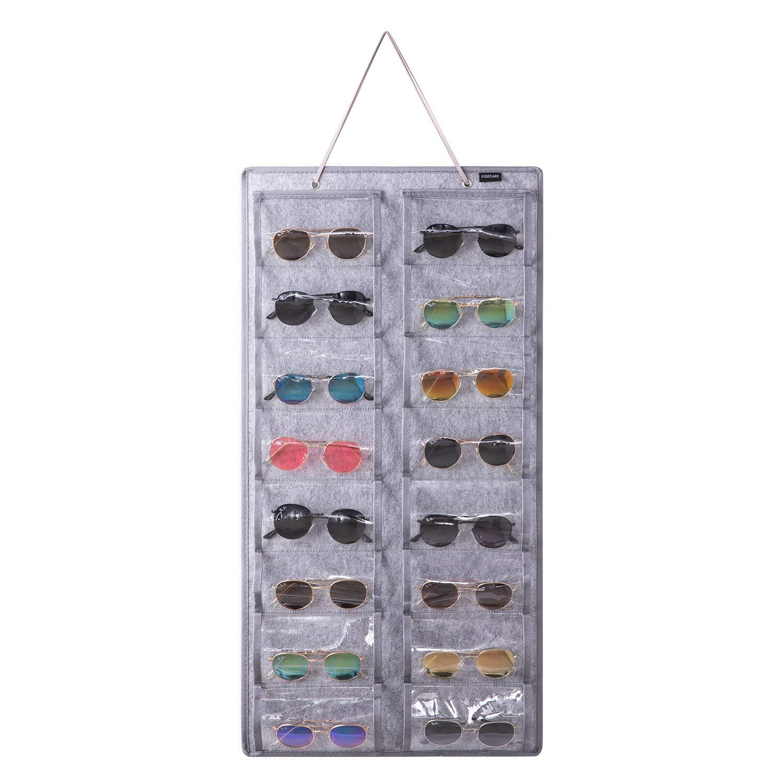 KGMCARE Sunglasses Organizer Storage - 16 Slots