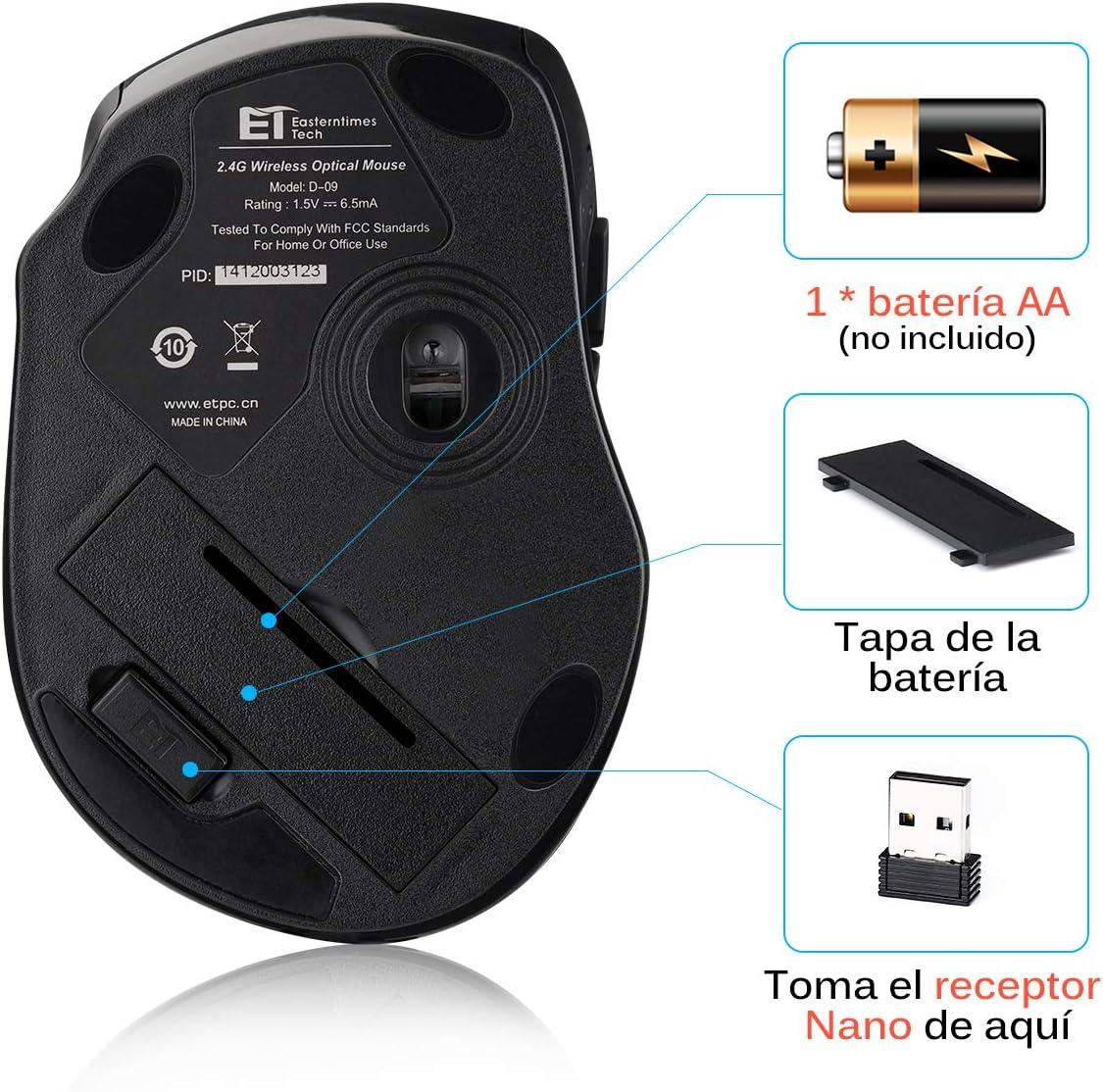 Los ratones inalámbricos para PC más vendidos