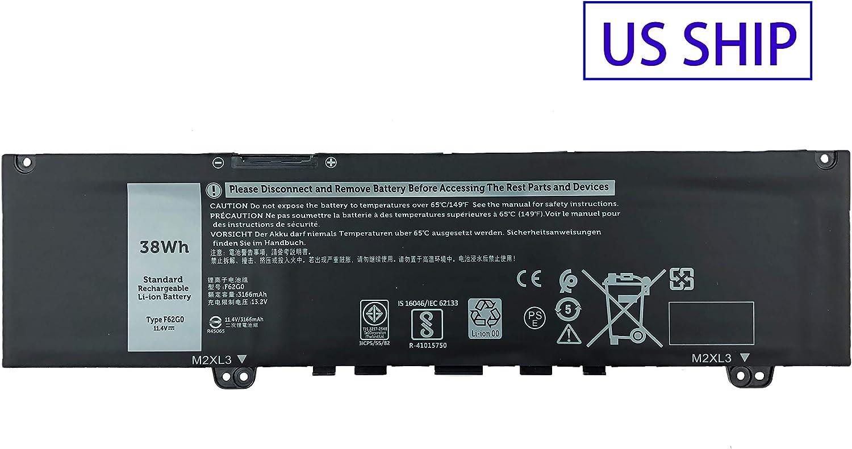 Bateria F62G0 Dell Inspiron 13 5370 7370 7373 7380 P83G