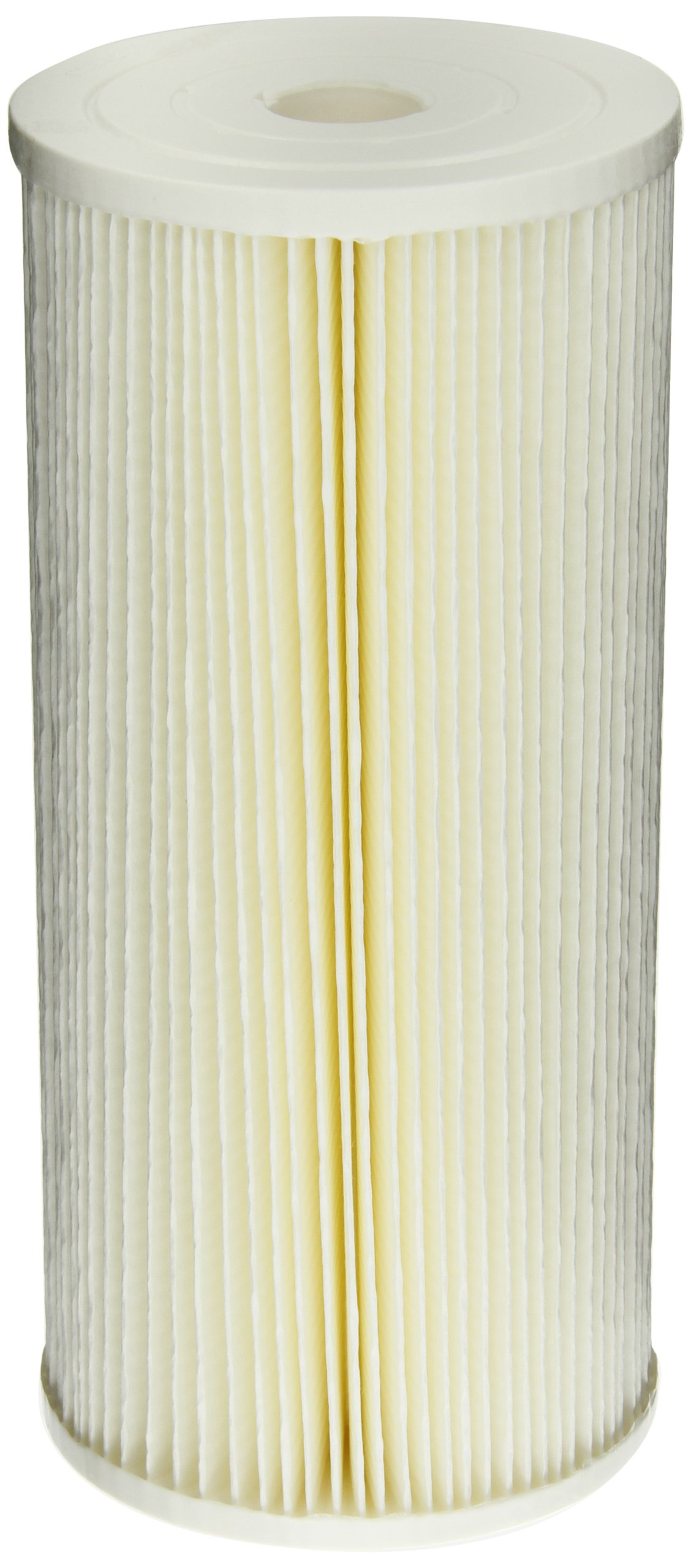 Pentek ECP5-BB Pleated Cellulose Polyester Filter Cartridge, 9-3/4'' x 4-1/2'', 5 Microns