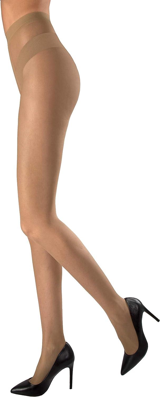 calza velatissima morbida come una seconda pelle punta invisibile per sandali WOOTI Collant MARINARA 8 DEN