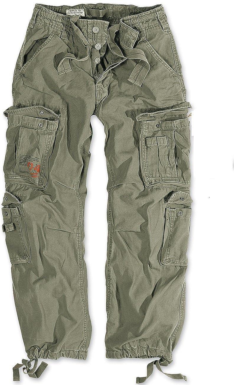 DELTA Airborne Vintage Trousers Oliv