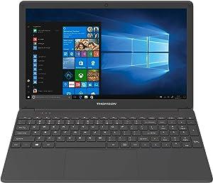 Thomson WWNEO15I5-8BK1T 15.6 in 2.7GHz Intel Core I5 Broadwell I5-5257U Processor 8GB DDR3L RAM |1TB Hard Disk & Intel Iris 6100 Graphic Processor, Windows 10 Home , Black