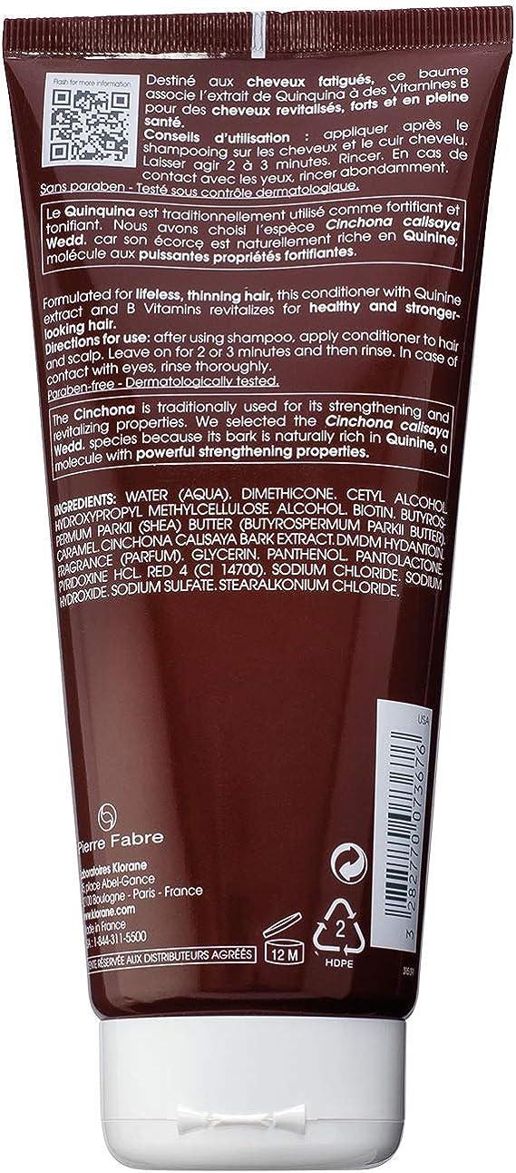 KLORANE - KLORANE Bálsamo a la Quinina 200 ml: Amazon.es: Belleza