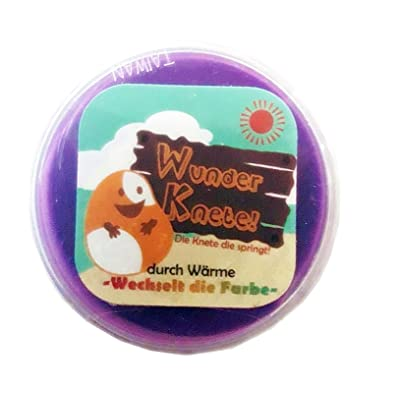 """Trading amusant"""", (Pourpre) Pâte expansible Modellable Changer la couleur Similaire à Butter Slime Enfants,"""
