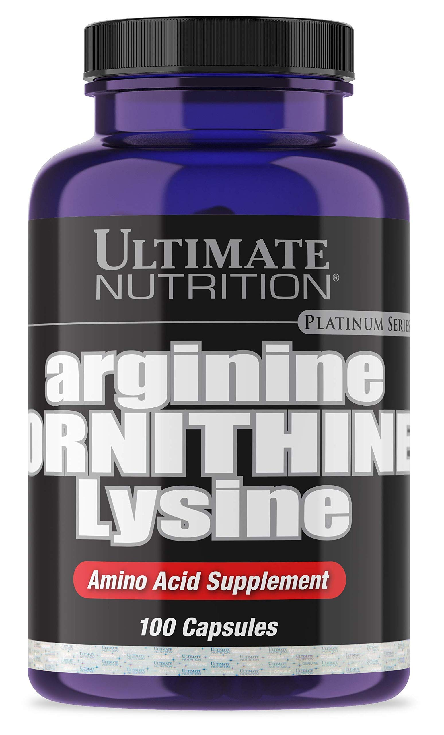 Ultimate Nutrition Max Strength Arginine Ornithine Lysine, Triple Amino Acid Supplement, 100 Capsules by Ultimate Nutrition