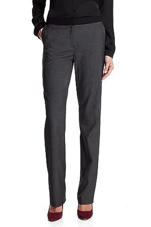 6d4d0327b1e226 Esprit - Tailleur-Pantalon - Femme - Gris (Anthracite 020) - FR: W44 ...