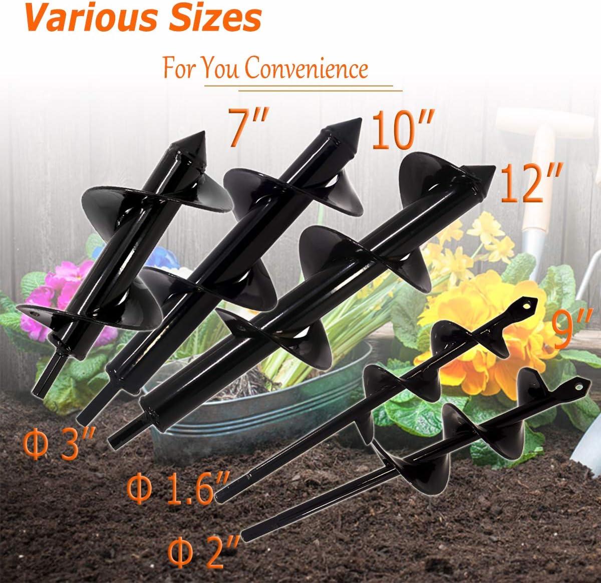 Amazon.com: Koopi Auger - Broca para plantas de jardín, 3.0 ...