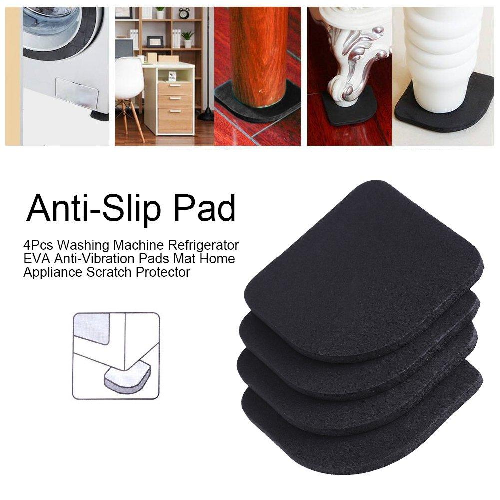 Anti-Vibration Mat Rubber Silent Feet Pads Washing Machine Anti-Vibration Shock Pads Mat Feet Machine Non-Slip Mat 4pcs
