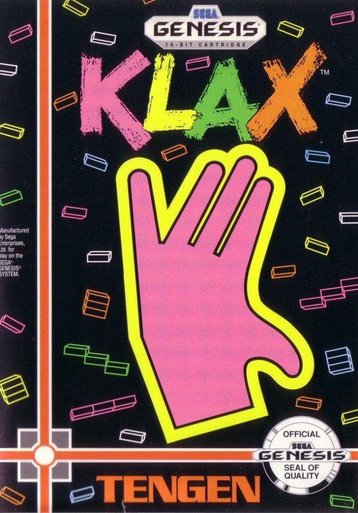 Klax - Sega Genesis