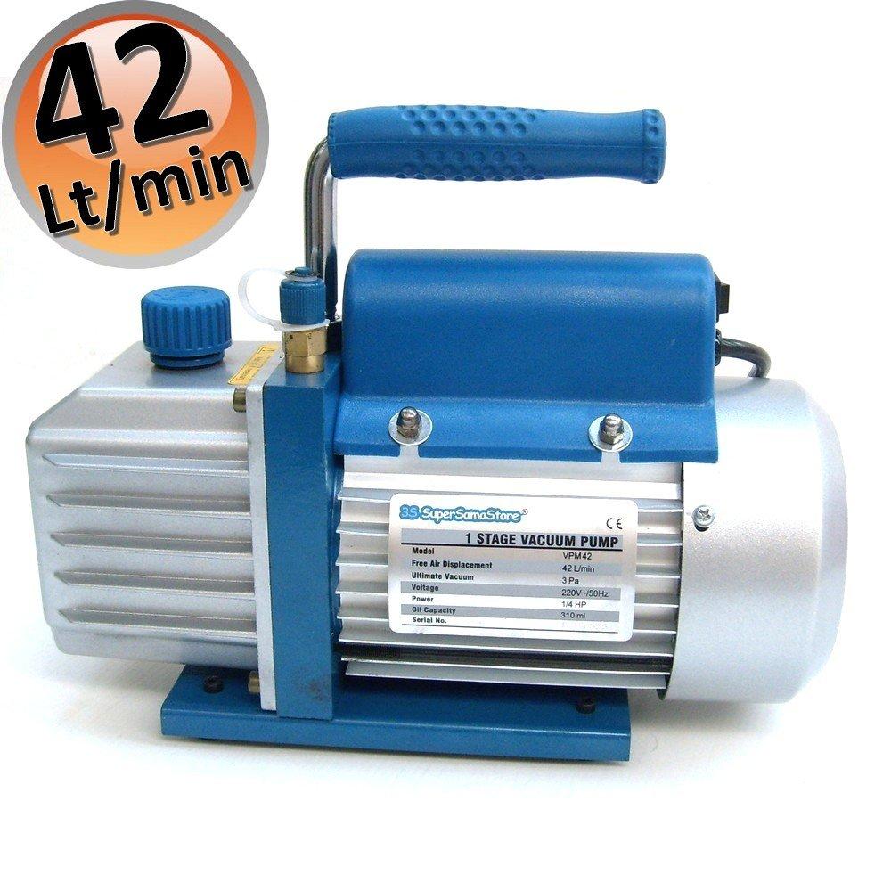3S MONTEURHILFE 2 WEGE R32 R410A mit 3 SCHLÄUCHEN KÄLTEMANOMETER Klimaanlage