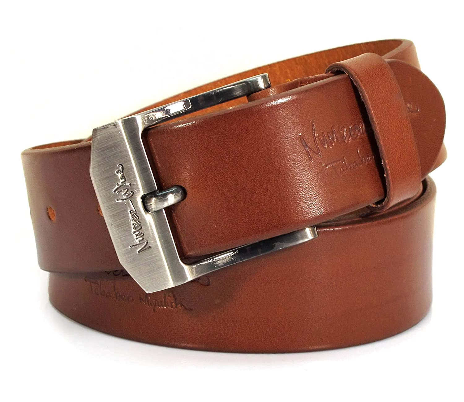 Womens Real Genuine Leather Belt Black Brown White 1.5 Wide S-XL Casual Jeans TW2