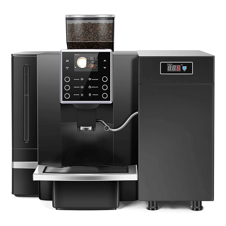 BRUNETTI Cafetera Automática Profesional. Máquina de Café con Enfriador de Leche Profesional. Ref: KAT90B-HKA100: Amazon.es: Industria, empresas y ciencia
