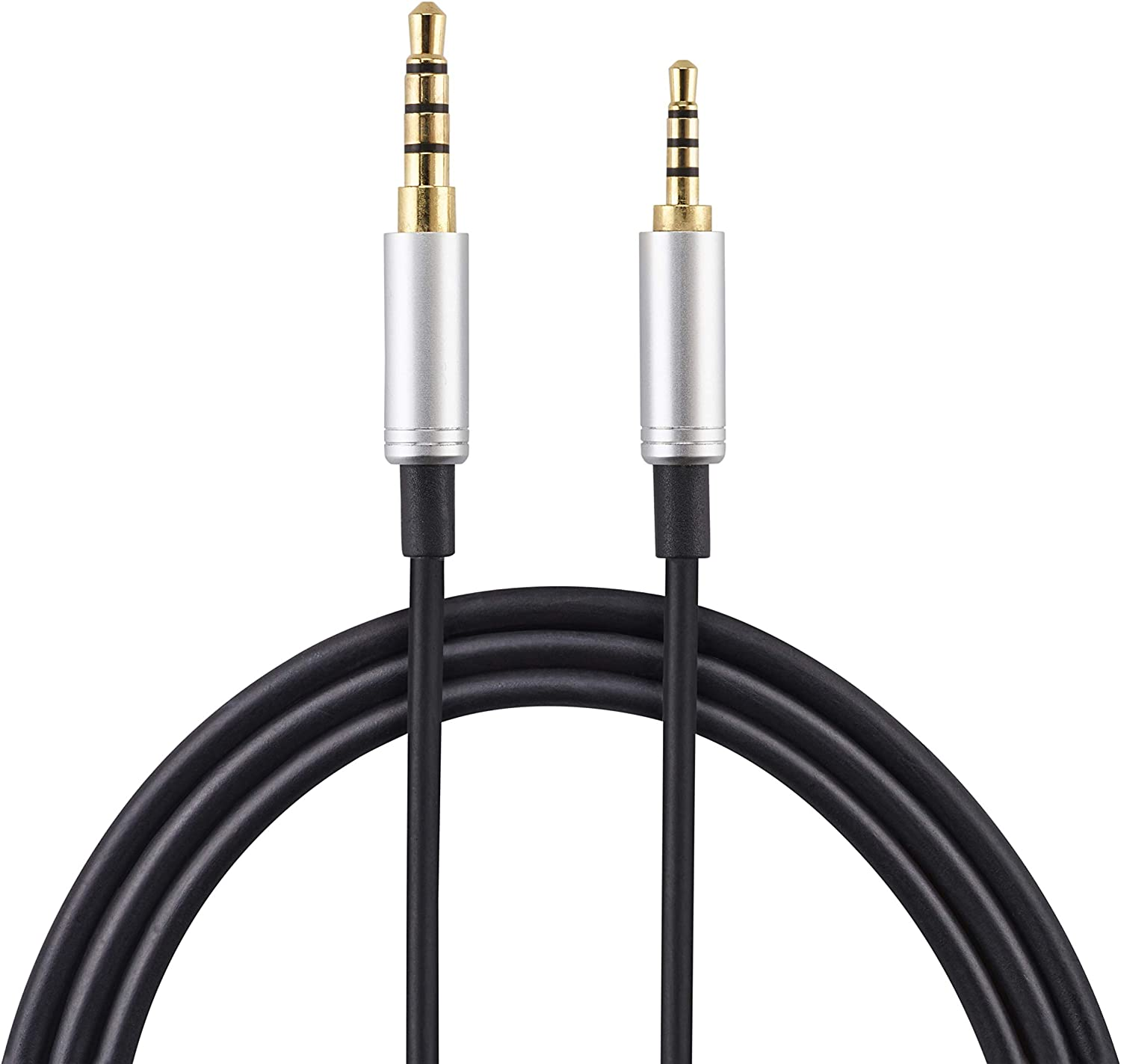 Android-GOLD PLATED Stepped Design AGS Retail Ltd 1.5m Replacement Headphone Audio Aux cable for AKG N700NC N60NC Y45BT Y40 Y55 K490 NC K545 Compatible with all iOS