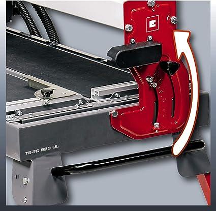 Einhell Radial Tile Cutting Machine Te Tc 920 Ul Long Cutting Lengths Laser As Optical Cutting Aid Pivoting Saw Blade Height Adjustable Baumarkt