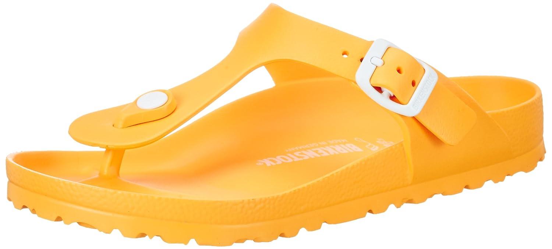 BIRKENSTOCK Gizeh EVA Unisex-Erwachsene Zehentrenner,  36 EU|Gelb (Scuba Yellow)