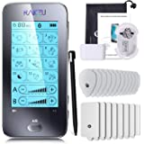 RAKZU AS8015 Touchscreen Tens Unit Muscle Stimulator Massager Dual Channels TENS Muscle Stimulator Unit Fully Isolated Indepe