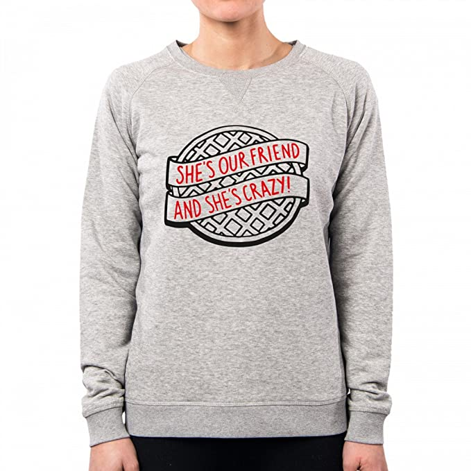 PacDesign Sudadera Mujer Stranger Things Cookie Black Pd1568a: Amazon.es: Ropa y accesorios