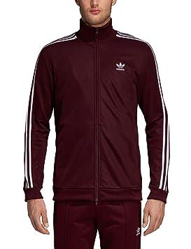 adidas Beckenbauer TT, Chaqueta Chándal para Hombre, Hombre, DH5830, Maroon: Amazon.es: Deportes y aire libre