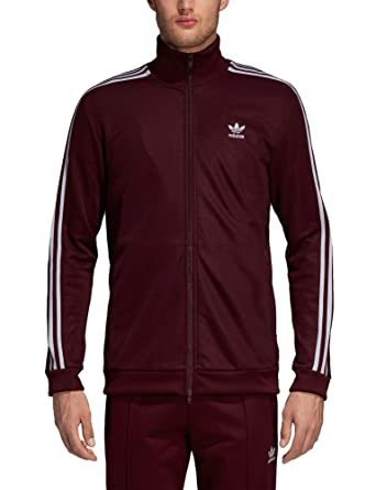 babc721929c adidas Originals Men s Bb Track Jacket Burgundy in Size Medium ...