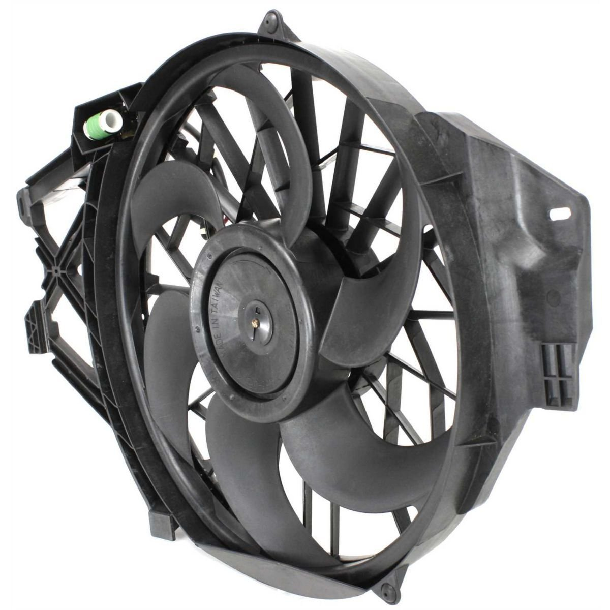 Diften 325-A1386-X01 - New Radiator Fan Cooling Ford Mustang 2004 2003 2002 2001 FO3115120 3R3Z8C607AA
