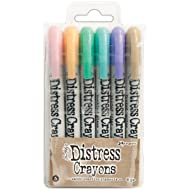 Ranger Distress Crayons Set 5, Multicoloured
