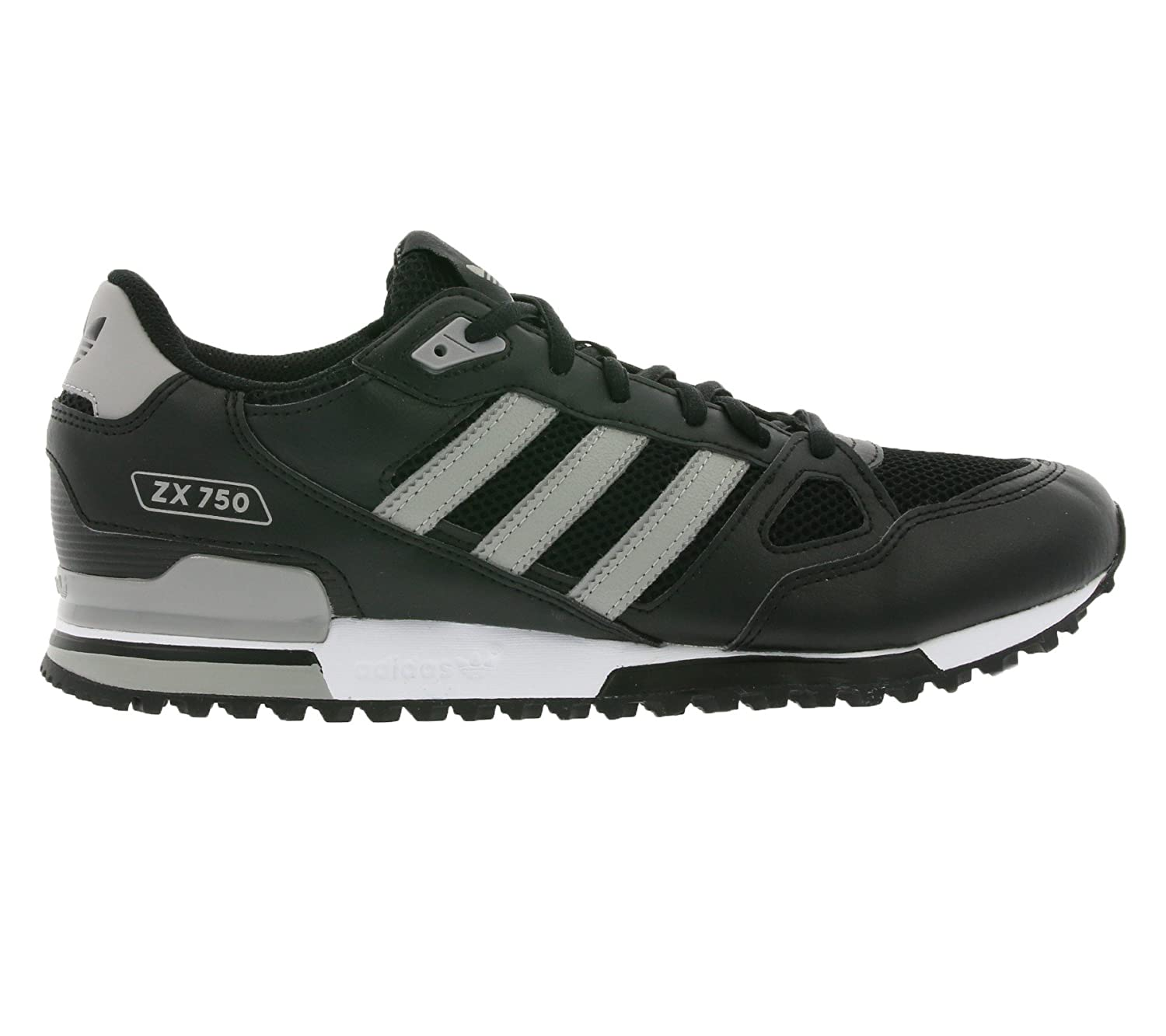 Zapatillass ZX 750 core black/mgh solid grey/mgh solid 16/17 Adidas Originals 42 core black/mgh solid grey/mgh solid: Amazon.es: Zapatos y complementos