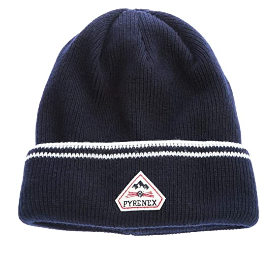 Pyrenex Colin Beanie Hat in Navy  Amazon.co.uk  Clothing 82e60807108