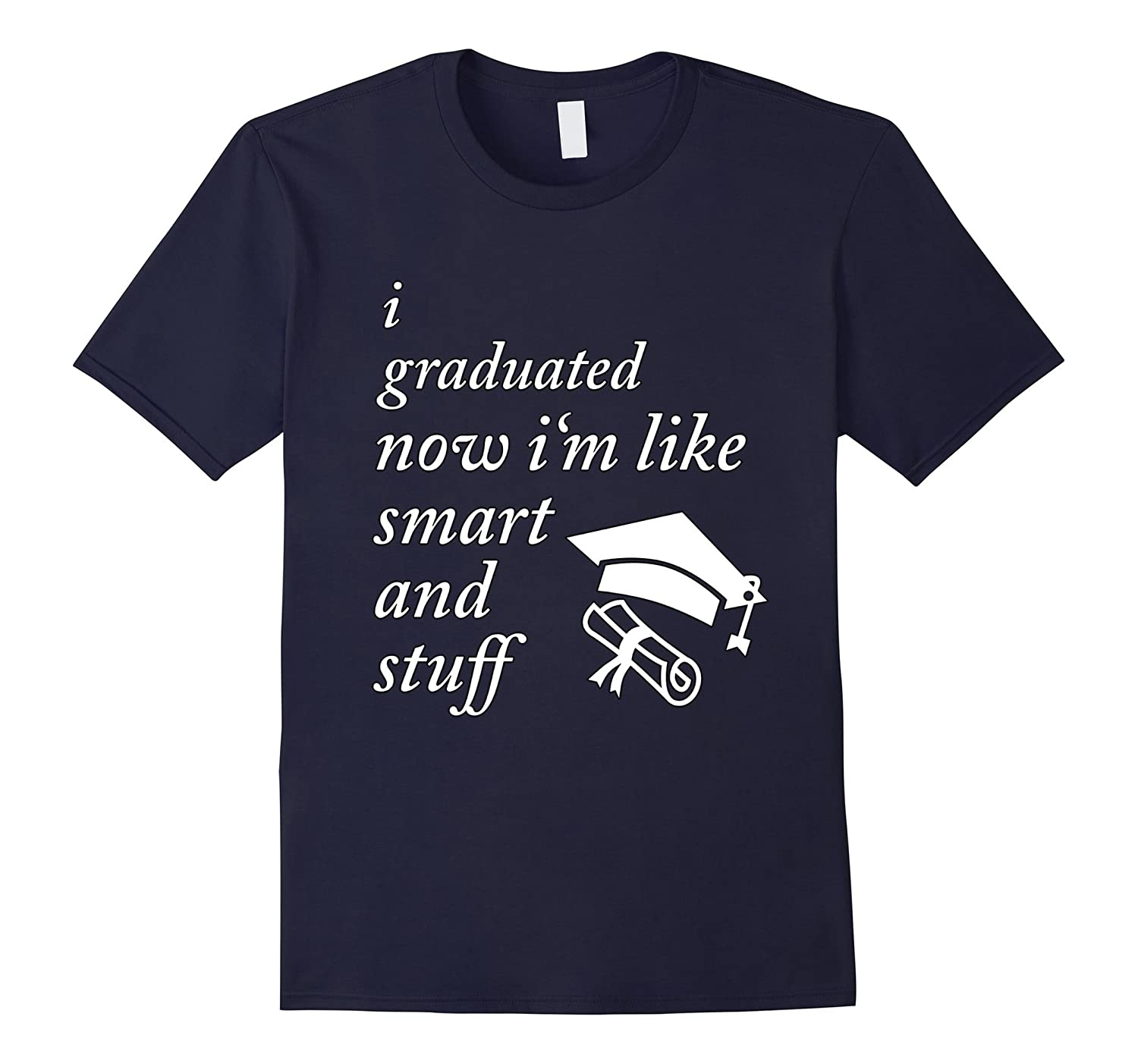 Funny College High School Graduation Gift Senior 2017 Shirt-TD