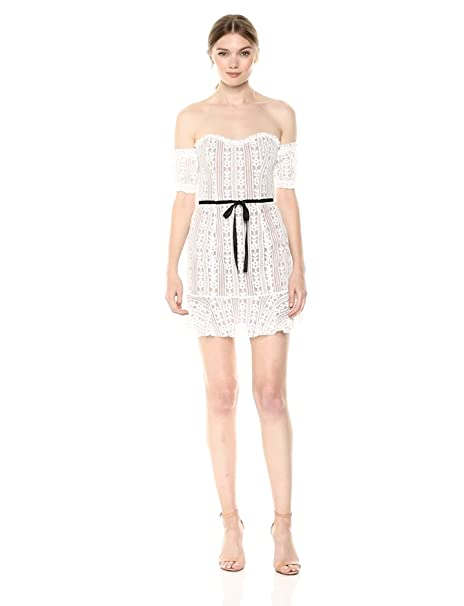 Amazoncom For Love Lemons Womens Dakota Lace Mini Dress