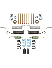 ACDelco 18K1596 Professional Front Drum Brake Hardware Kit with Springs, Pins, Retainers, Washers, and Caps