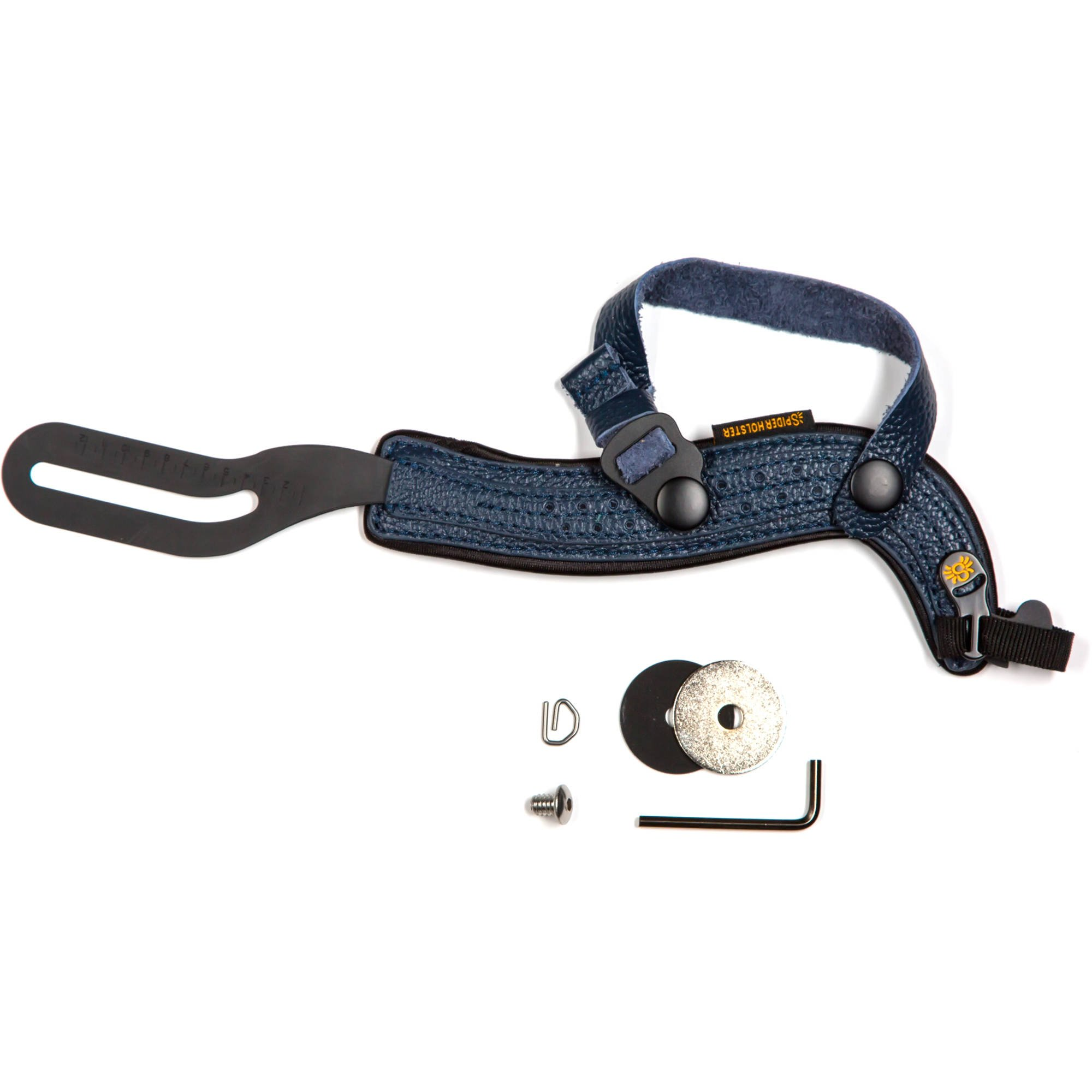 SpiderHolster SpiderPro Hand Strap for DSLR with Attached Lens, Dark Blue