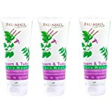 Patanjali Neem Tulsi Face Wash, 60g (Pack of 3)