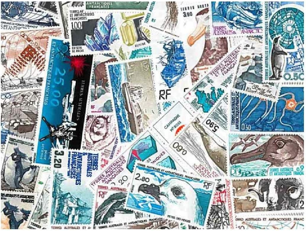French Southern Antarctica 15 Different Stamps Collection Mixture Packet Stamps for Collectors