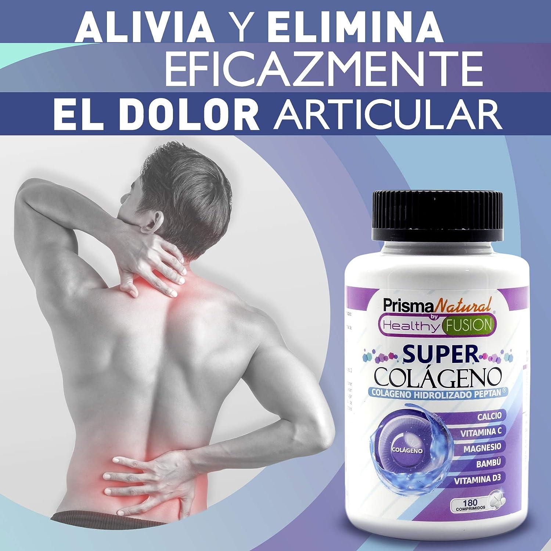 SUPER COLÁGENO - Exclusivo Colágeno Hidrolizado + Bambú + Magnesio + Calcio + Vitaminas C y D3 - Piel sana e Hidratada - Protege y alivia dolores en ...