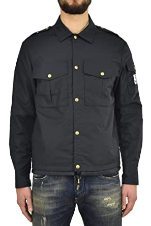 MONCLER Jacket Navy Buttons Hombre - Talla: 1 - Color: Azul ...