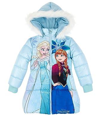 28364a7ca44d Disney Frozen Elsa & Anna Girls Padded jacket - light blue - 3 yrs ...