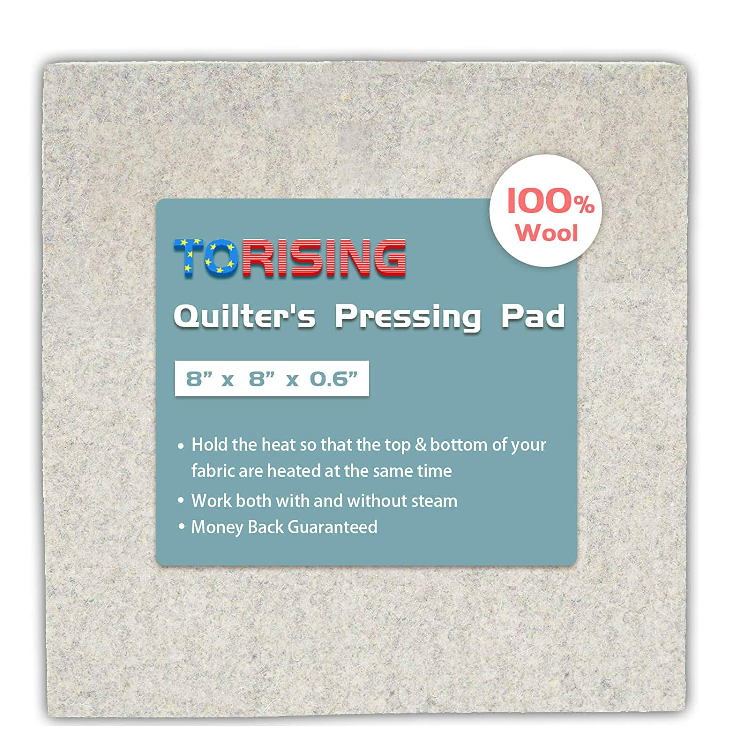 Wool Quilter's Pressing Pad Mat - 8