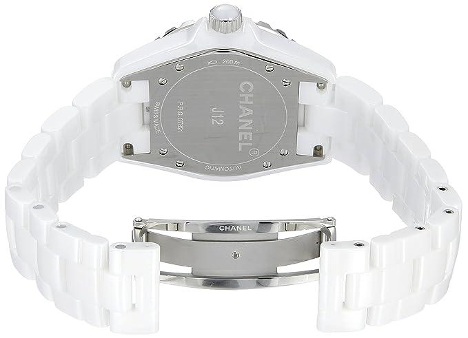 Chanel H1629 - Reloj para hombres, correa de cerámica: Amazon.es: Relojes
