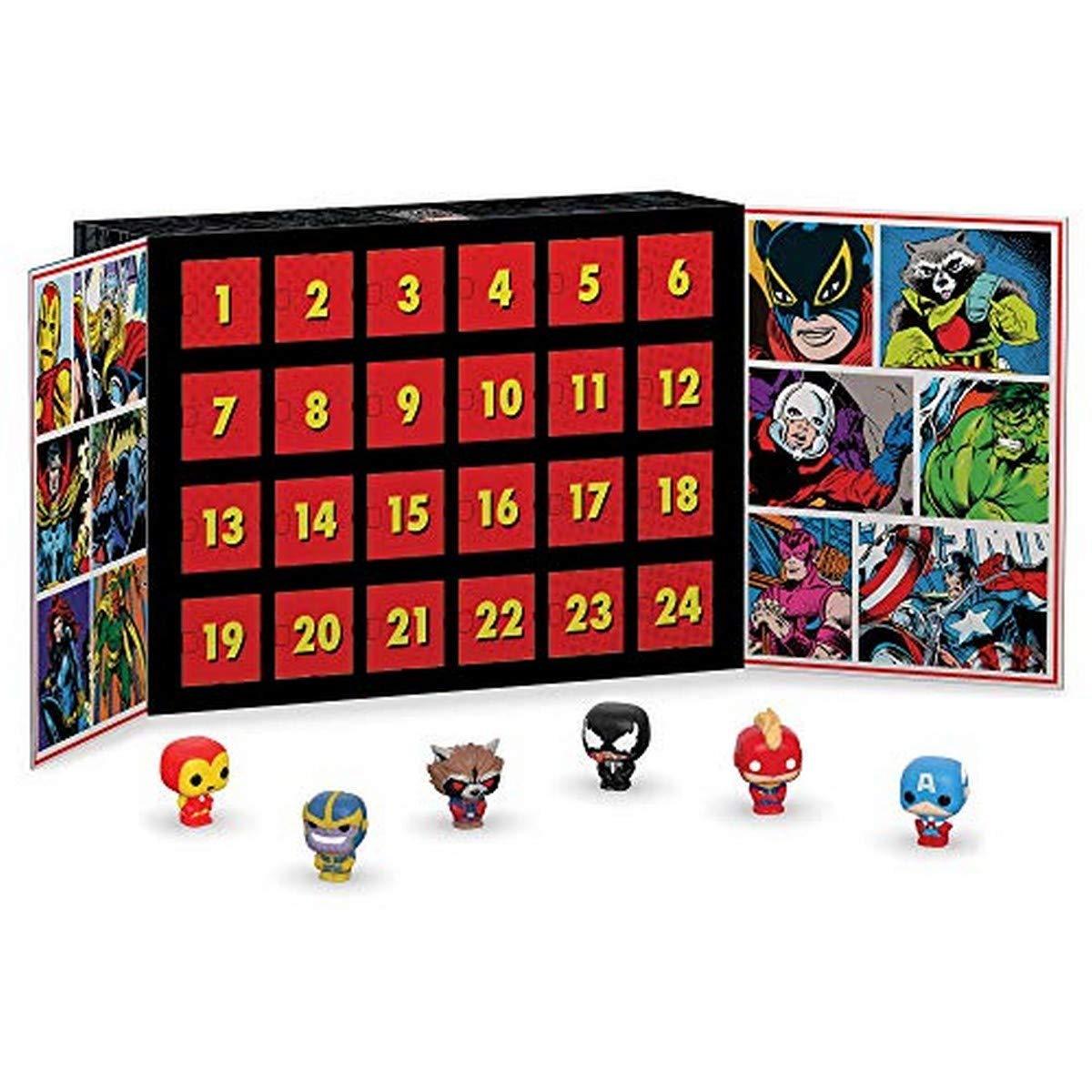 Marvel Advents Kalender mit Pocket-Pops Sammelfiguren Bild