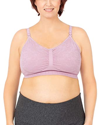 acc155e6b17 Kindred Bravely Simply Sublime Full Coverage Nursing Bra for Breastfeeding  and Maternity (Lilac