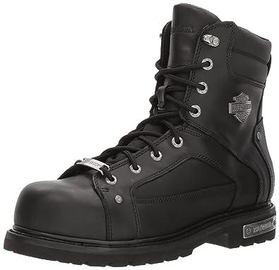 c1b7ac91d0e5 Harley-Davidson Men s Abercorn Motorcycle Safety Toe Boots D93480 (Blk