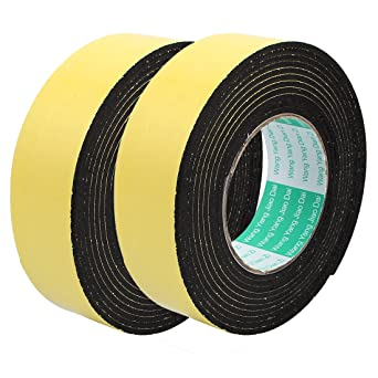 4M 40mm x 3mm Single Side Adhesive Foam Sealing Tape for Door Window