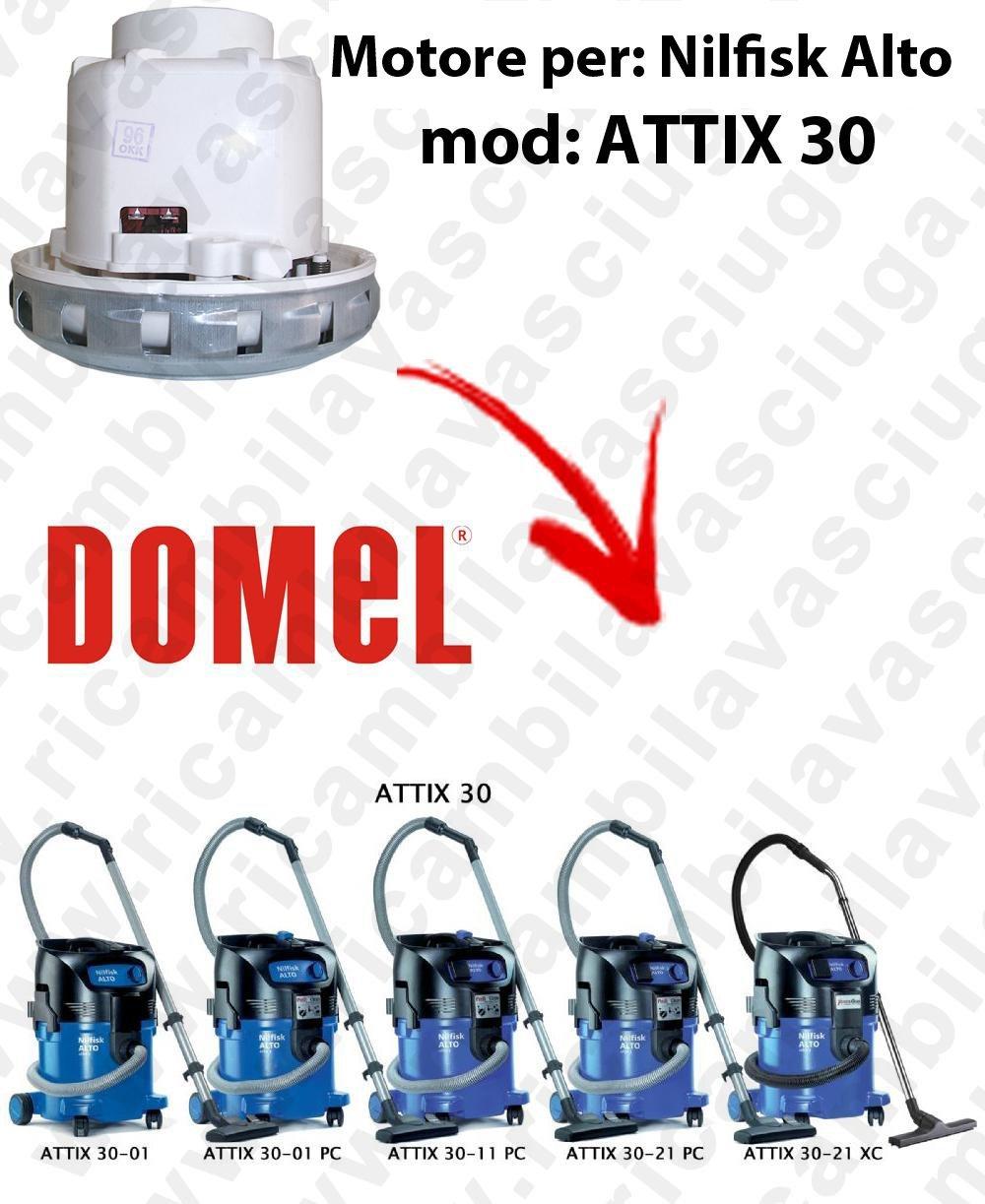 DOMEL Para Motor de Aspiradora NILFISK ALTO ATTIX 30: Amazon.es: Industria, empresas y ciencia