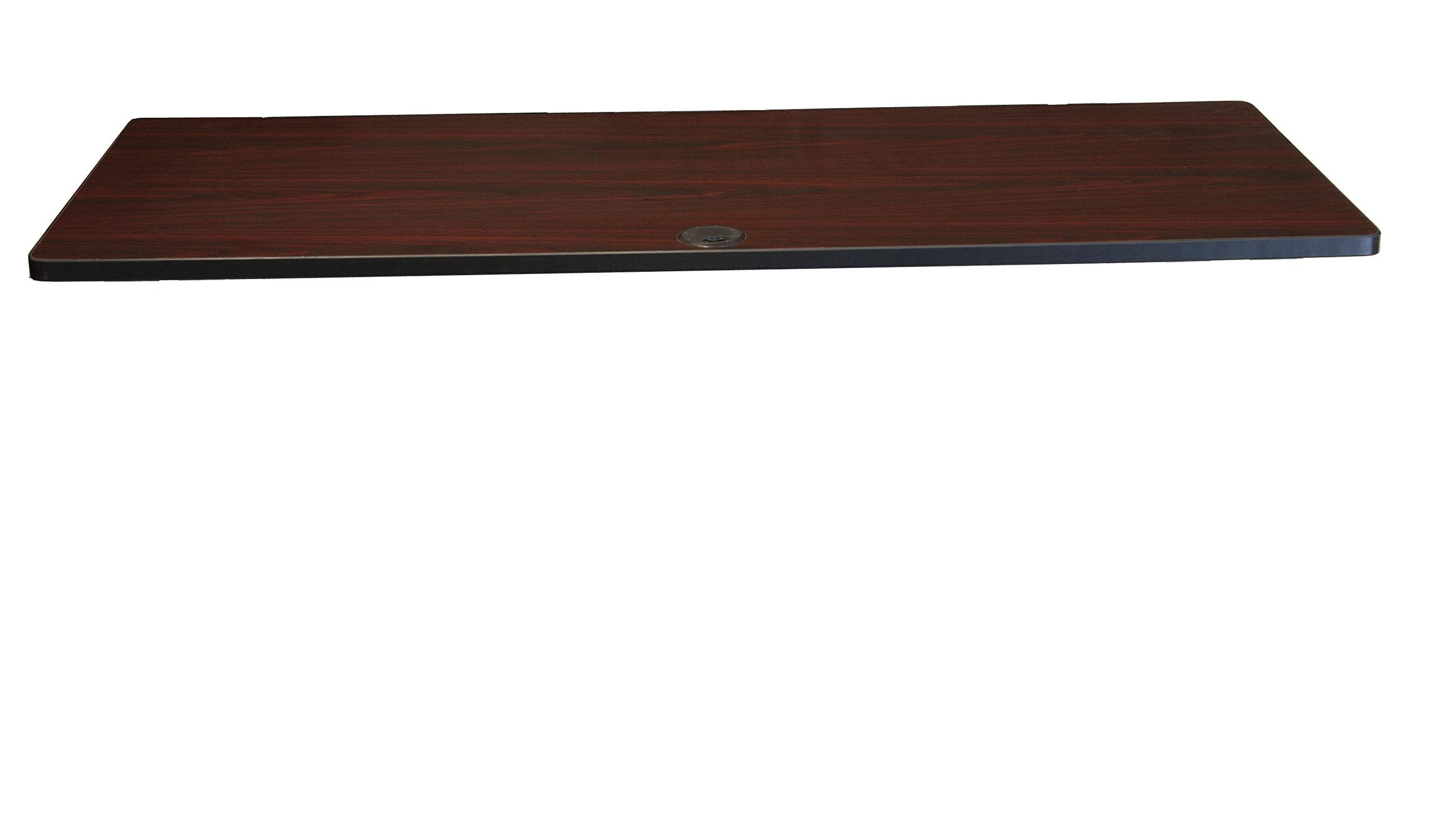 Boss Office Products NTT2448-M Training Table (Legs Sold Seperatly) in Mahogany