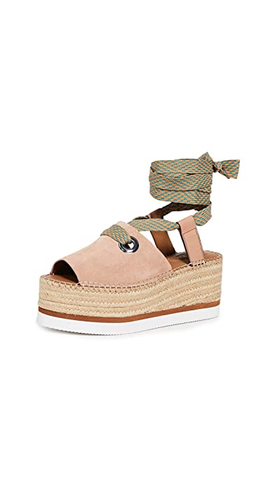 e73483c0b Amazon.com: See by Chloe Women's Glyn Amber Lace Up Espadrilles: Shoes
